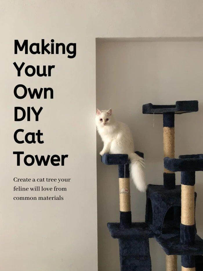 2. DIY Cat Tree