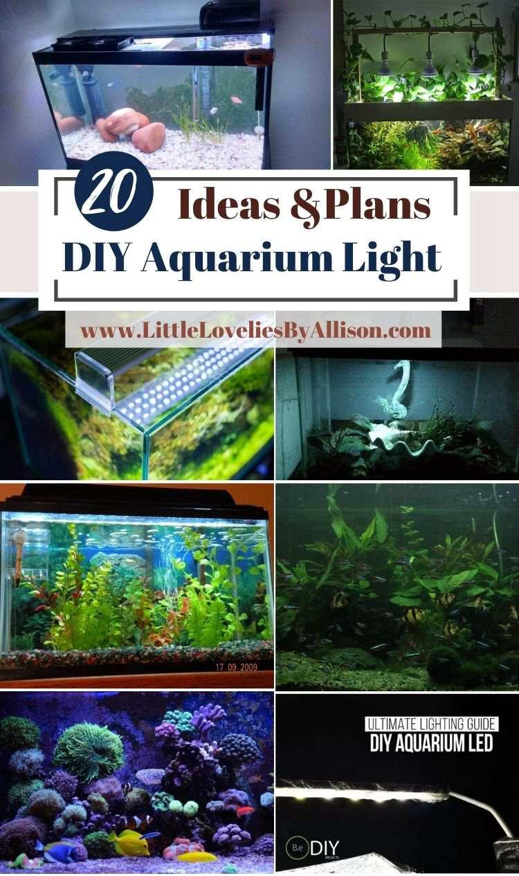 20 DIY Aquarium Light Ideas To Illuminate Your Fish Tank