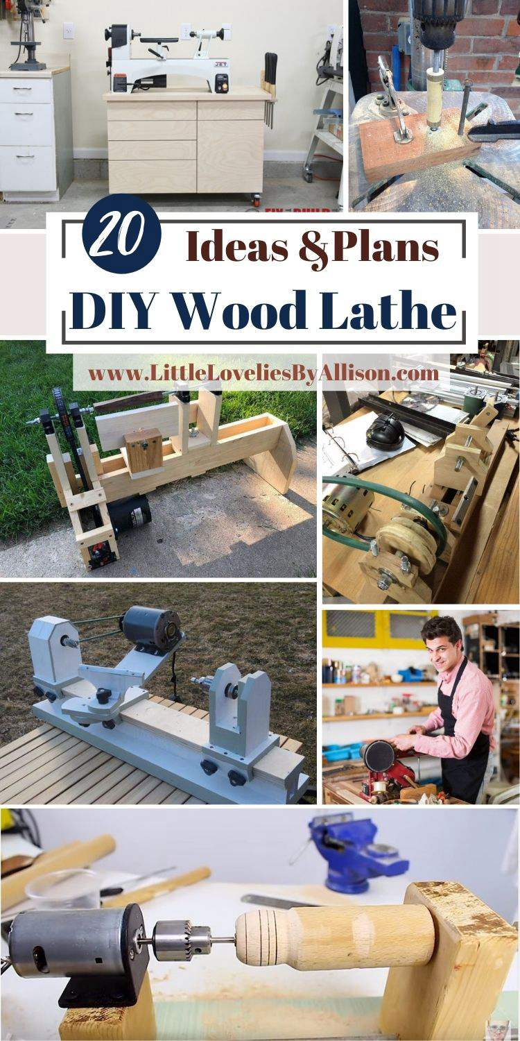 20 DIY Wood Lathe Plans_ How To Build A Wood Lathe