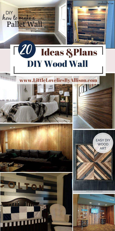 20 DIY Wood Wall Ideas_ How To Build A Wood Wall Like A Pro