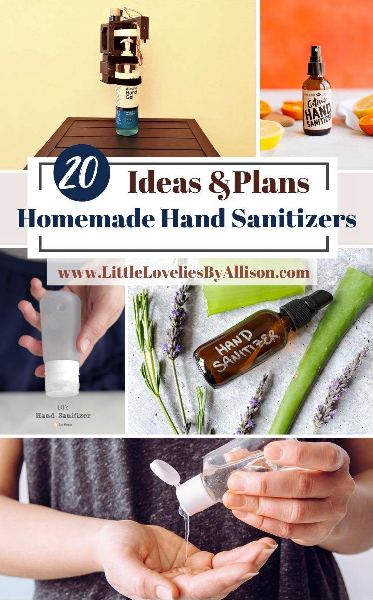 20 Homemade Hand Sanitizers That Keep The Germs Away
