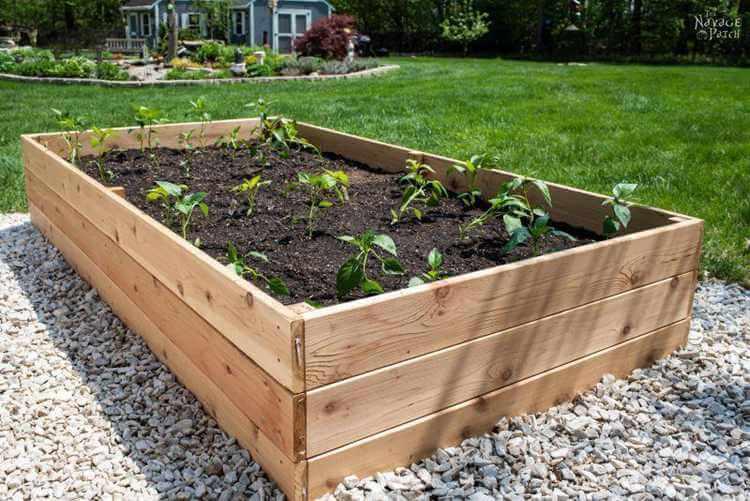 20. DIY Raised Garden Bed Plan