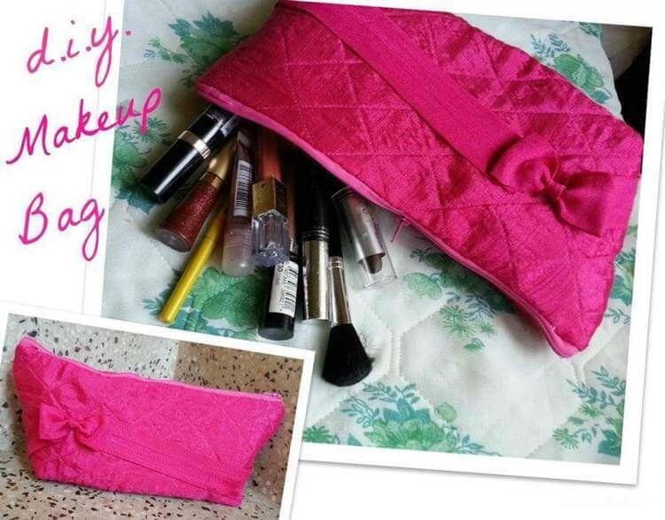 21. DIY Makeup Bag