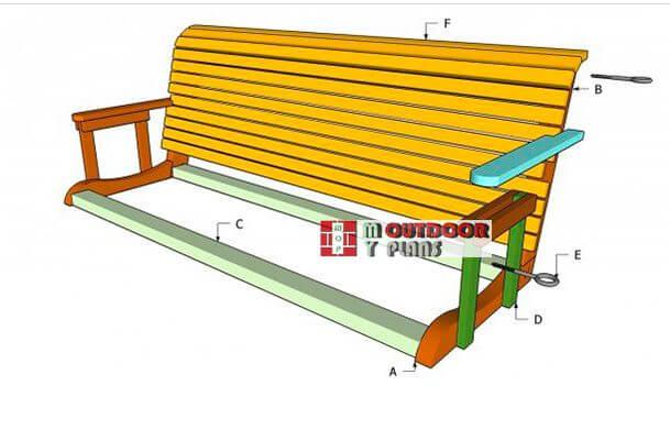21. DIY Porch Swing Plans