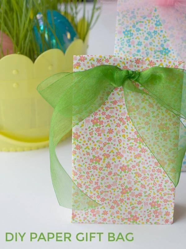 22. DIY Paper Gift Bag