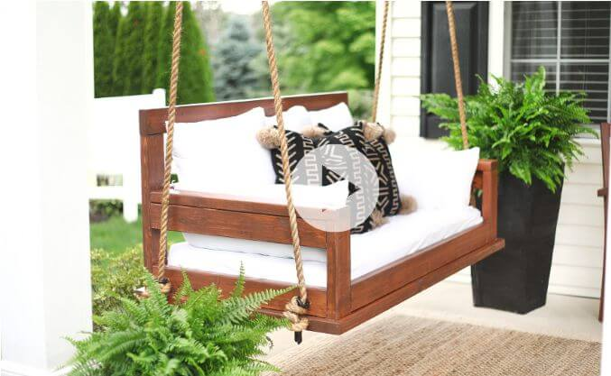 22. How To Build A Porch Swing