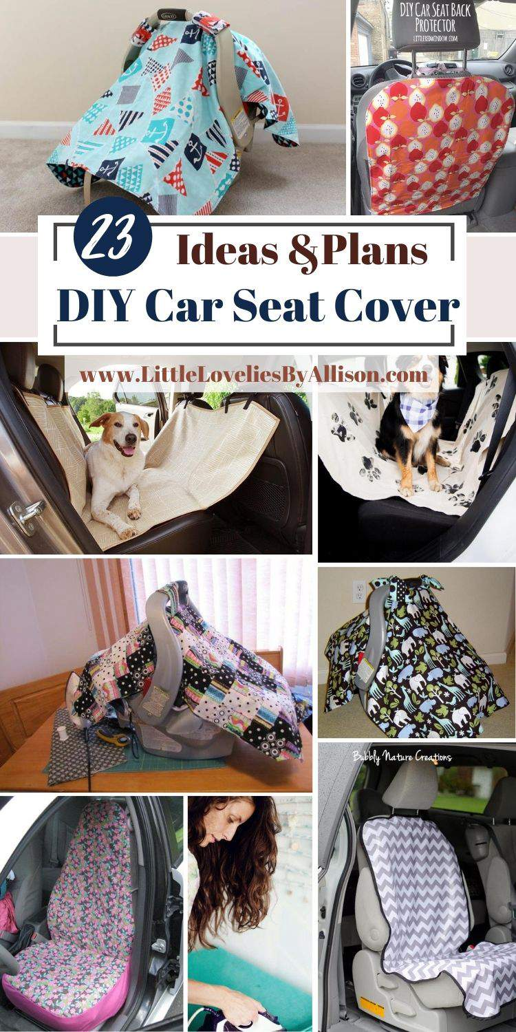 23 DIY Car Seat Cover Projects_ Make It Like A Pro