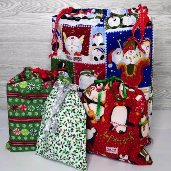 23. DIY Fabric Gift Bag