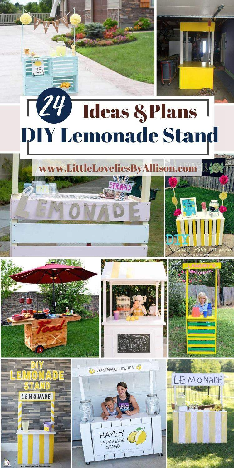24 DIY Lemonade Stand Ideas_ Do It Yourself In A Jiffy