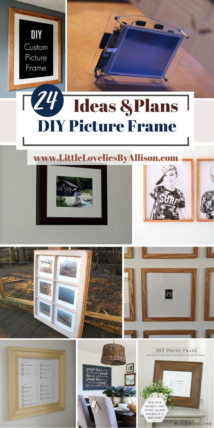 24 DIY Picture Frame Ideas That Would Be Great For Your Home