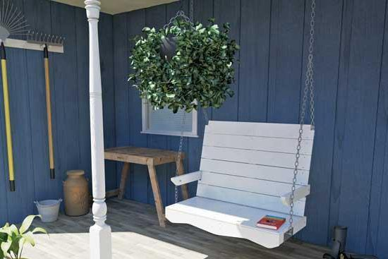 24 DIY Porch Swing Plans That Your Family Will Love