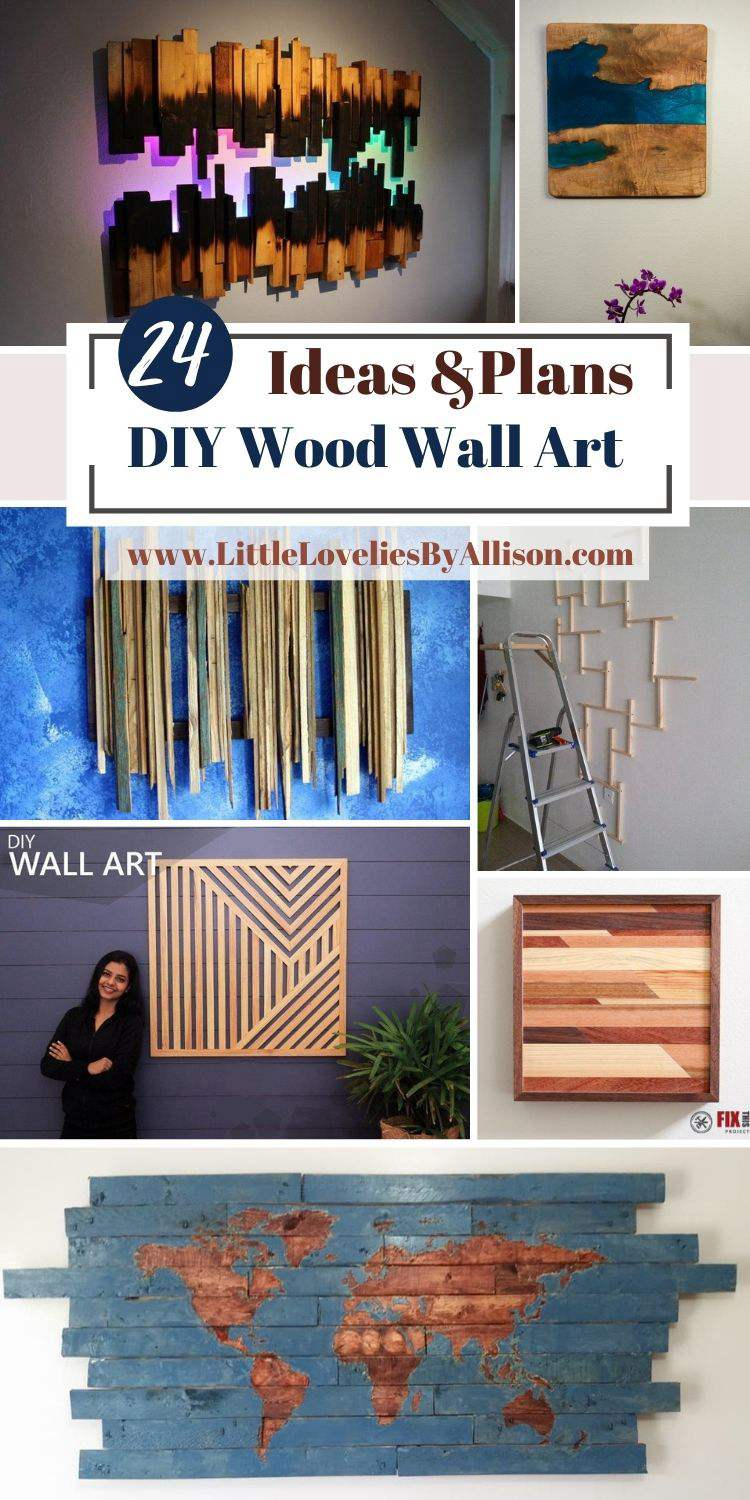 24 DIY Wood Wall Art Ideas That Will Beautify Your Home