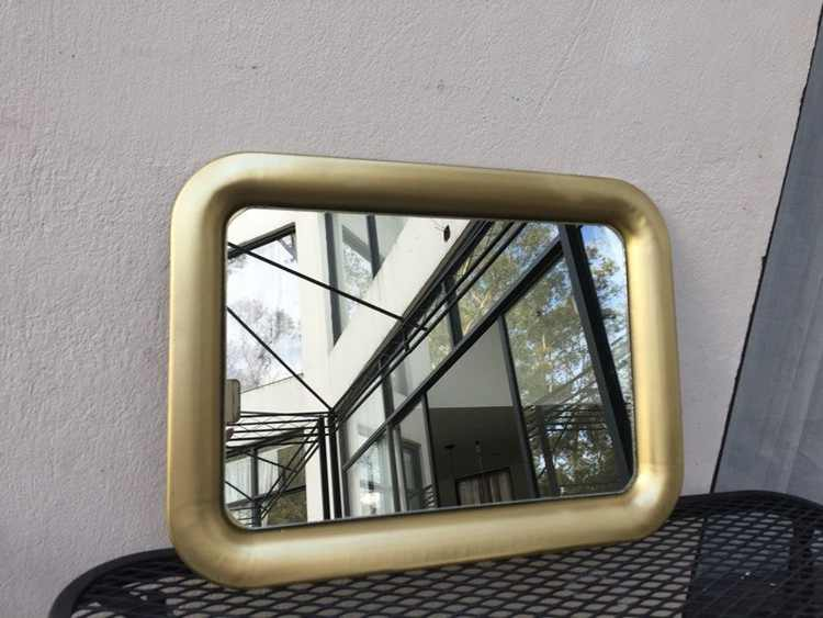 24. DIY Easy Mirror With Frame