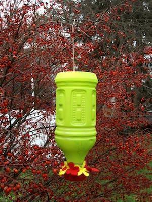 24. DIY Hummingbird Feeder