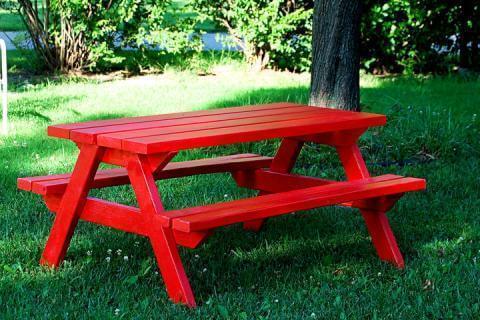 24. DIY Picnic Table Plans