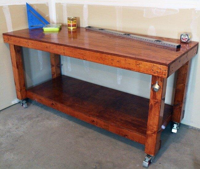 24. DIY Simple Workbench