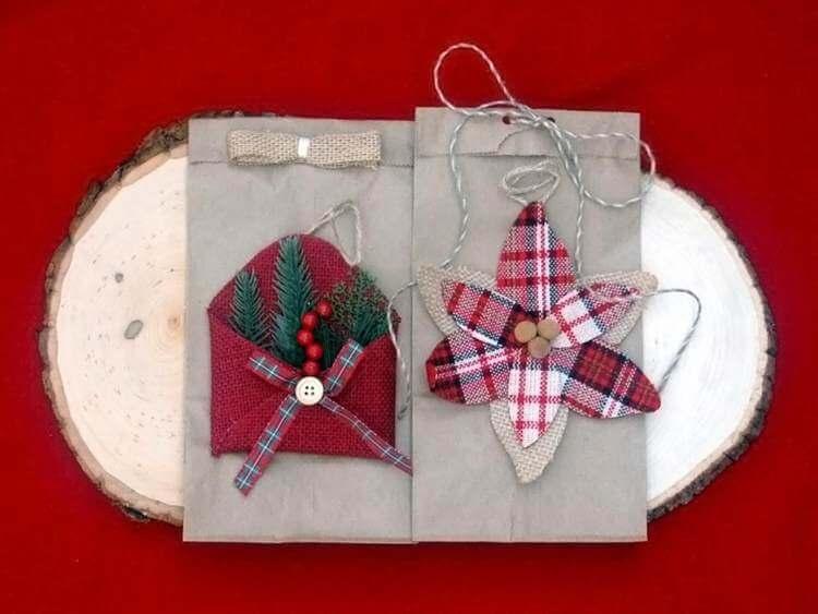 24. Easy Christmas DIY Gift Bag
