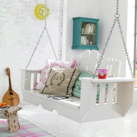 25. DIY Indoor Swing