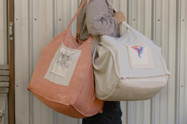 25. DIY Oversized Tote Bag