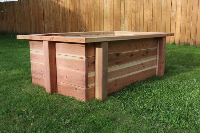 25. DIY Raised Garden Bed Plans