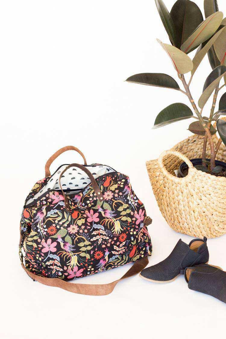 3. DIY Fancy Duffle Bag Idea