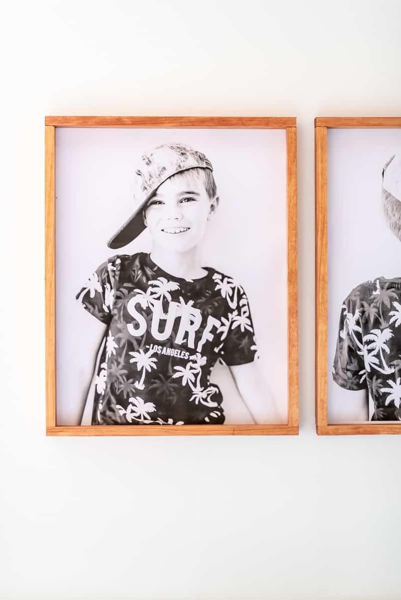 3. DIY Picture Frame Under $5