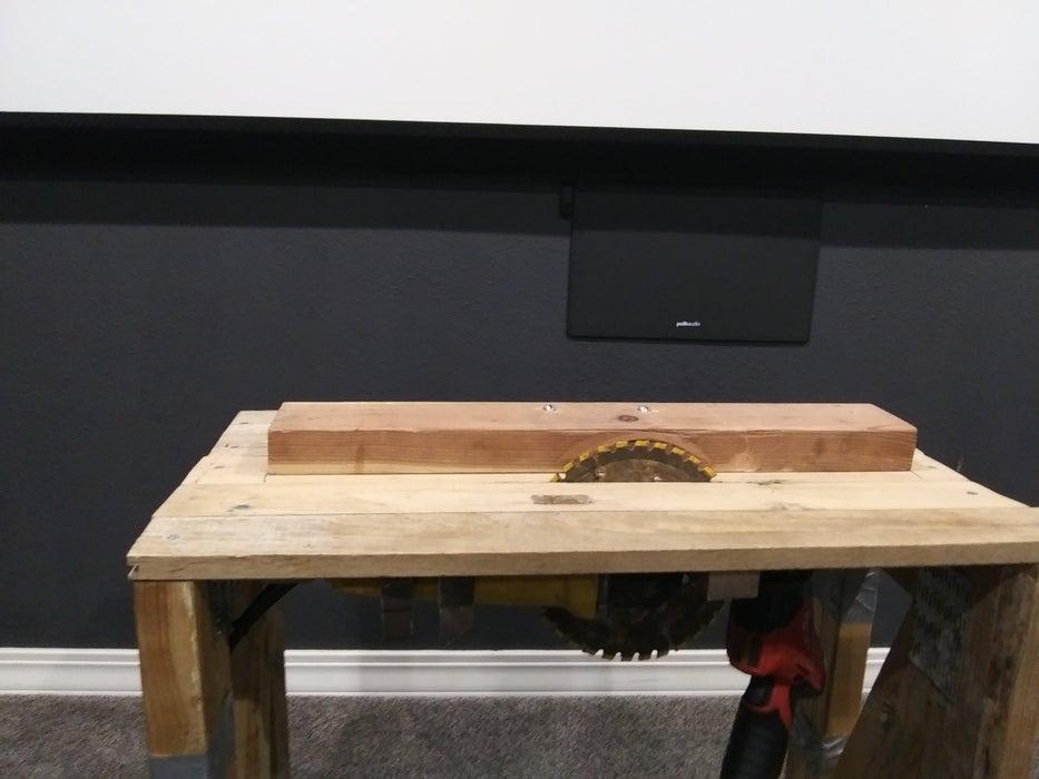3. DIY Table Saw