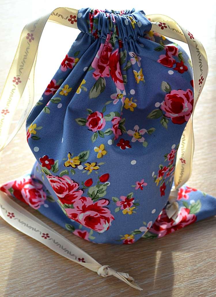 3. How To Make A Simple Drawstring Bag