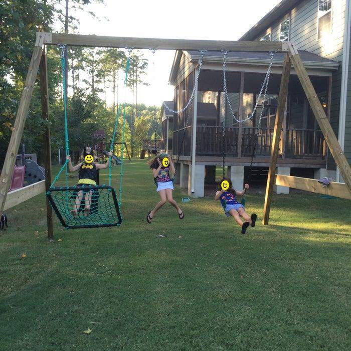 4. Free-Standing A-Frame Swing Set