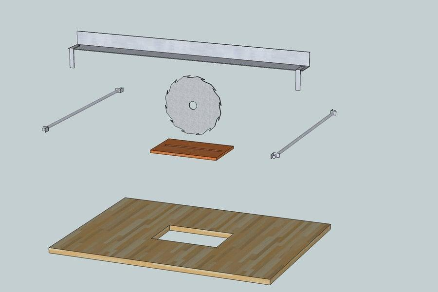 4. How To Convert Hand Saw To Table Saw