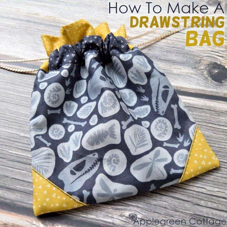 4. How To Make A Drawstring Bag