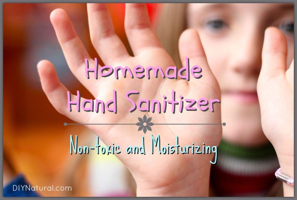4. How To Make Natural Hand Sanitizer