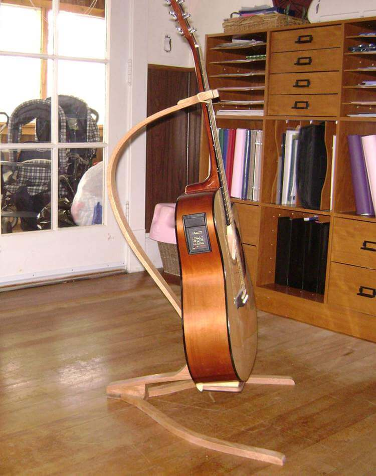 5. DIY Guitar Stand