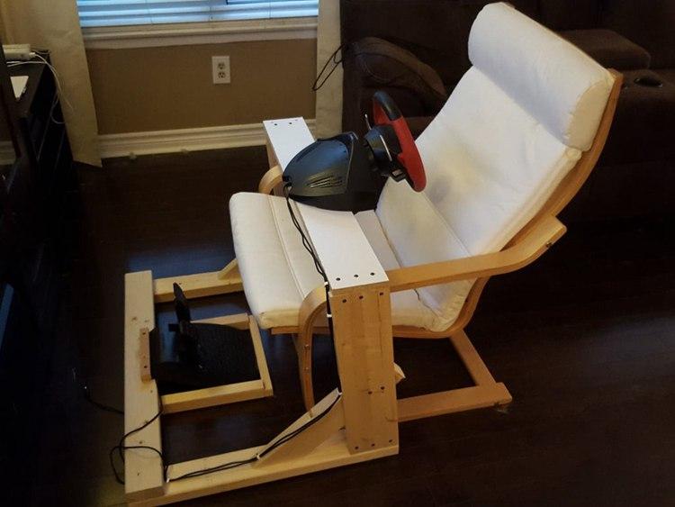 5. DIY Steering Wheel Stand