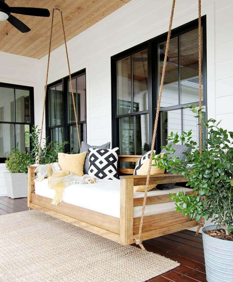 5. How To Build A Porch Swing Bed