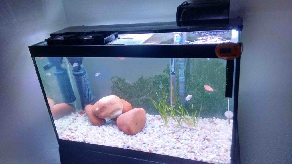 6. Aquarium LED Lighting DIY