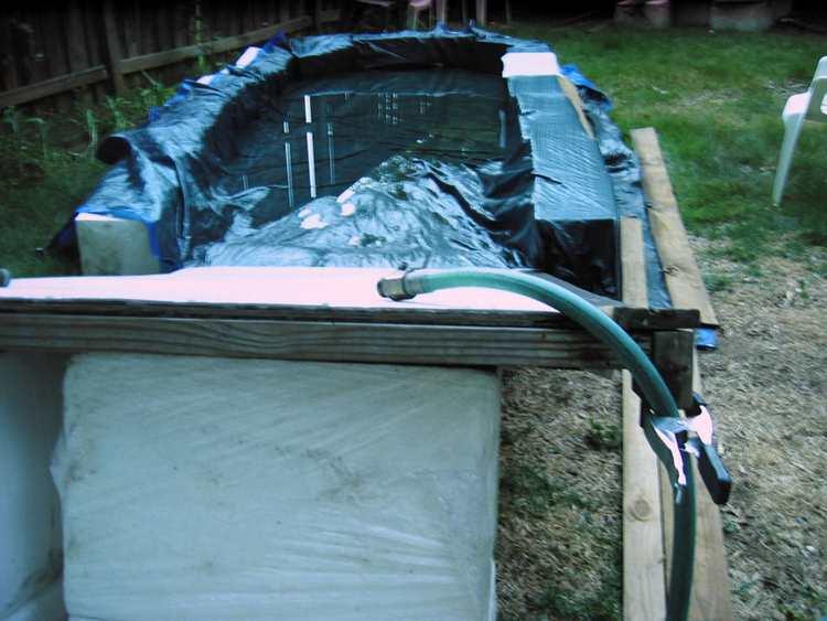 6. DIY Backyard Water Slide