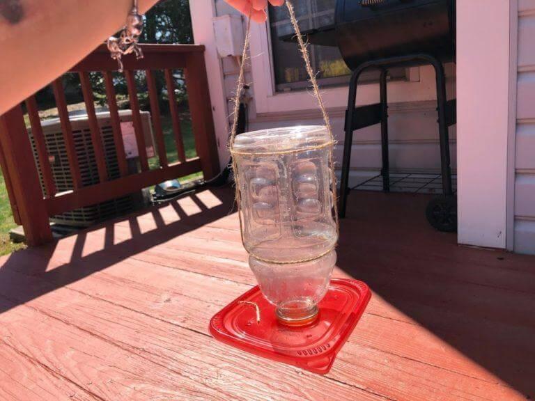 6. DIY Cheap Hummingbird Feeder