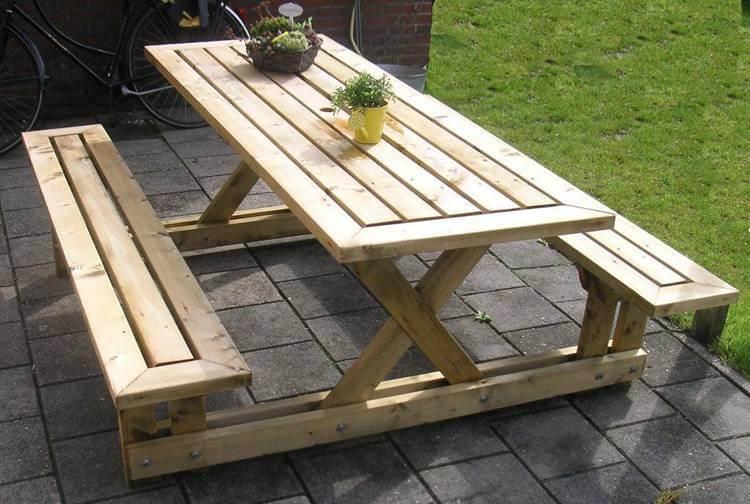 6. DIY Picnic Table Plan