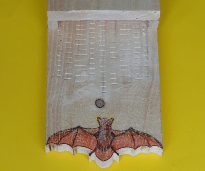 6. DIY Simple Bat House