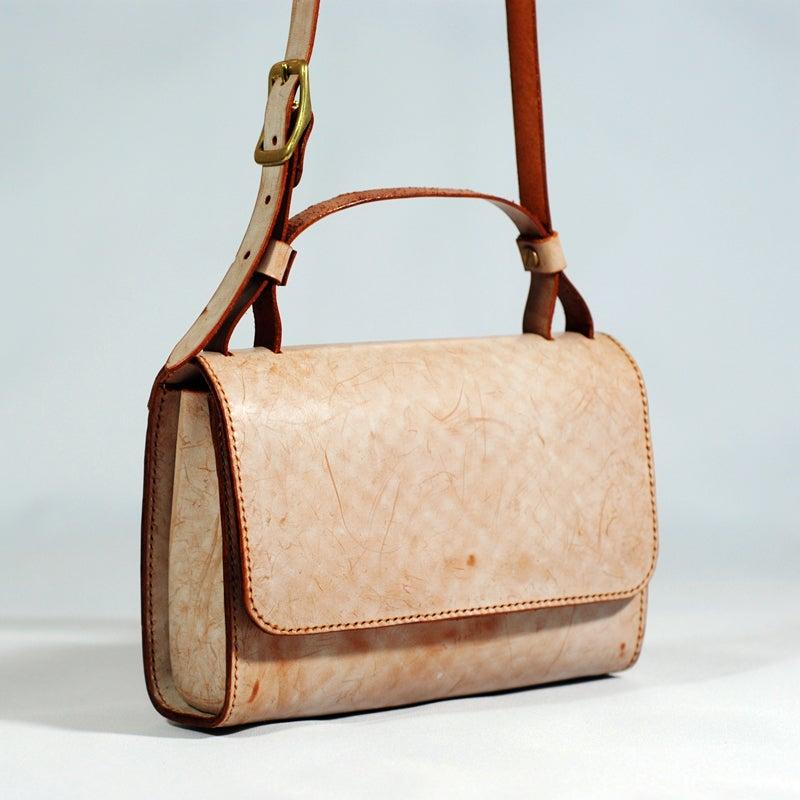 6. Leather Crossbody Bag DIY