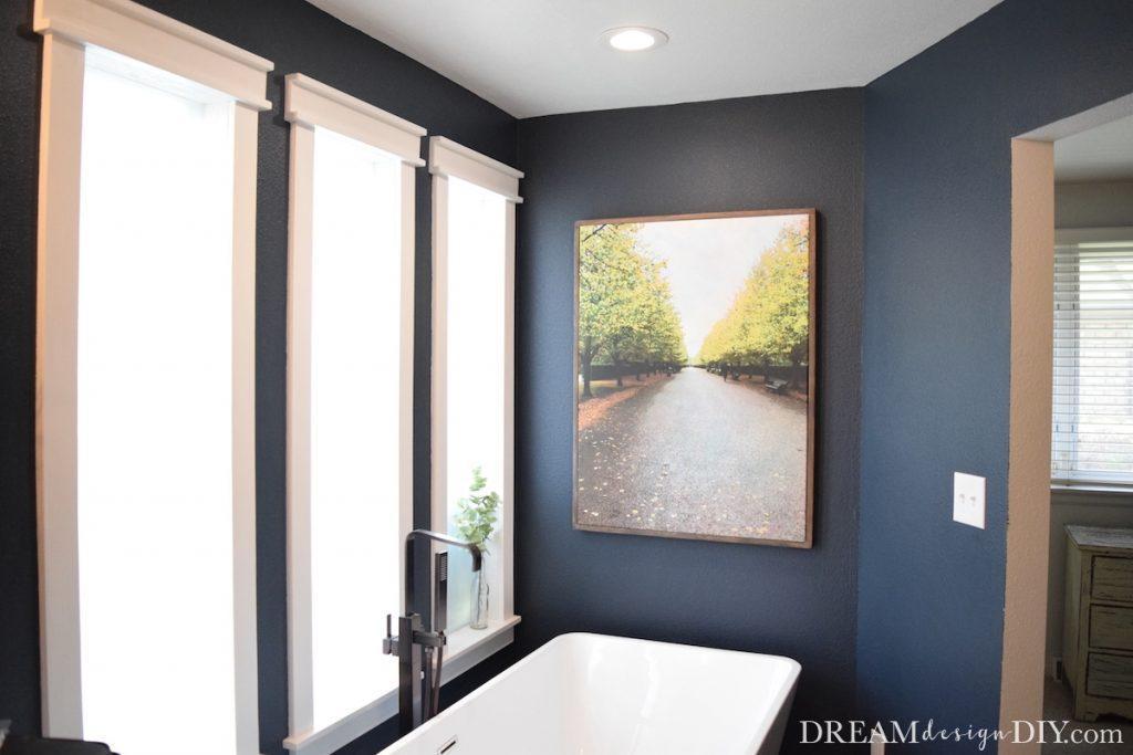 7. DIY Large Wood Canvas Frame