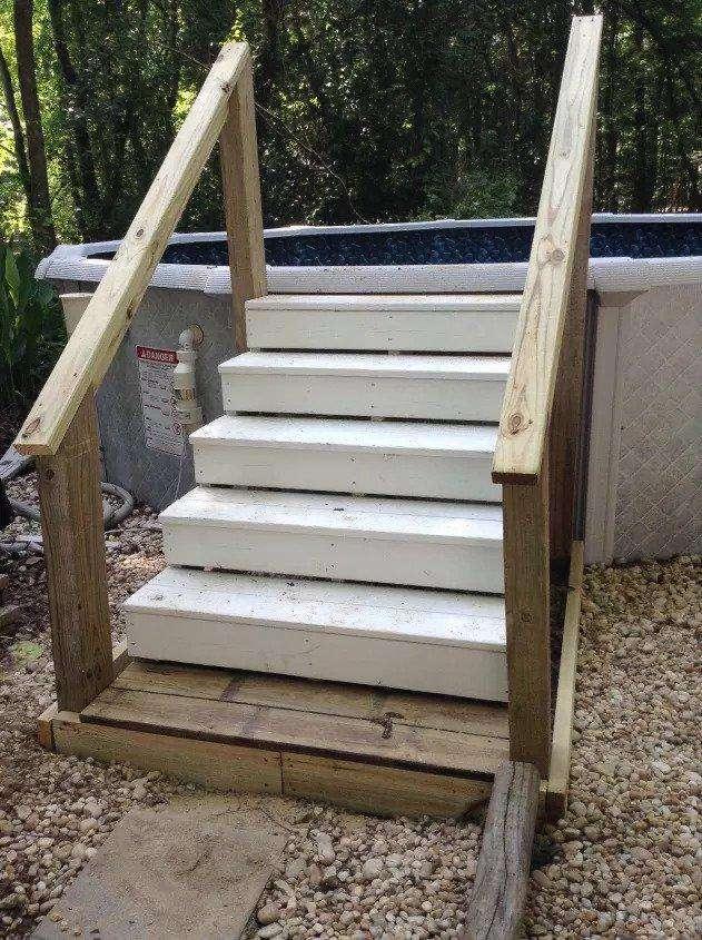 7. DIY Pool Ladder