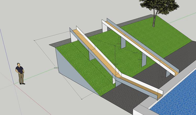 7. DIY Pool Water Slide
