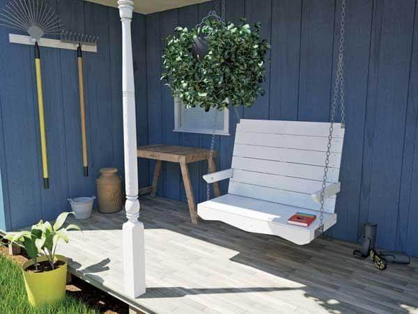 7. DIY Porch Swing Plans