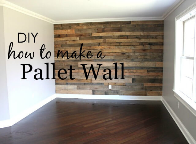 7. How To Build A Pallet Wall