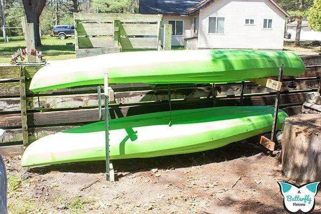7. How To Make A Kayak Rack