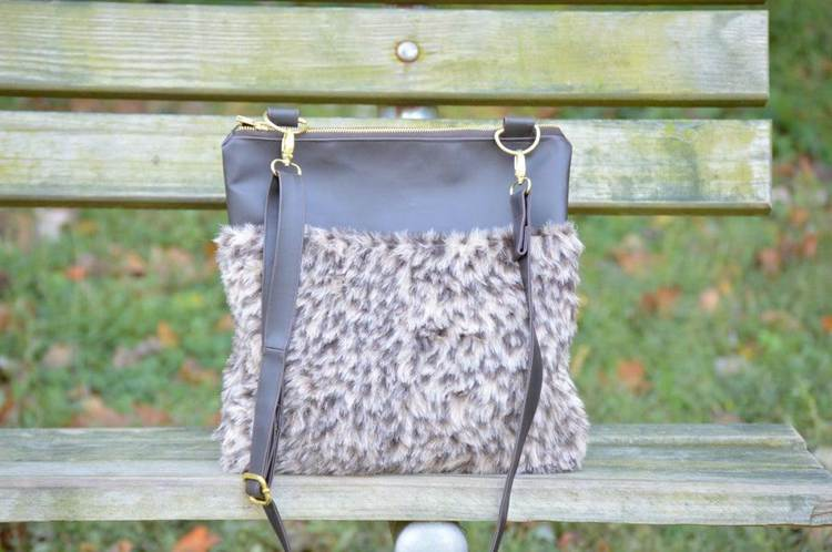 7. How To Sew A Faux Fur Crossbody Bag