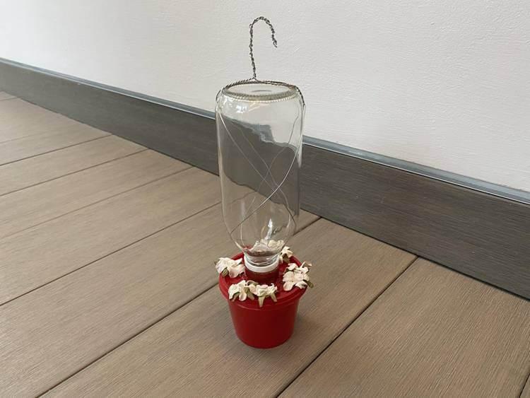 7. Hummingbird Feeder DIY