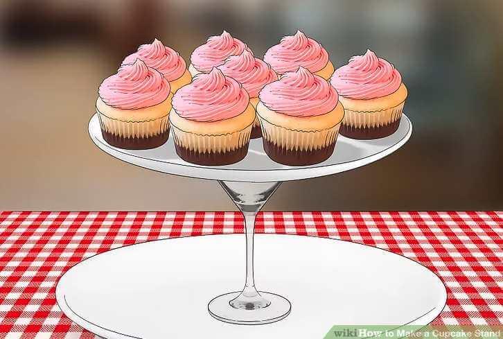 8. 4 Ways To Make A Cupcake Stand
